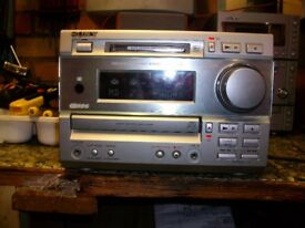 SONY STEREO SYSTEM MD373