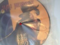 jimmy hendrix picture disk vinyl 1968 perfect condition.