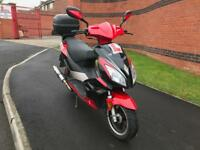 2014 (64) PULSE WY 125cc T-74 LIGHTSPEED 2 SCOOTER