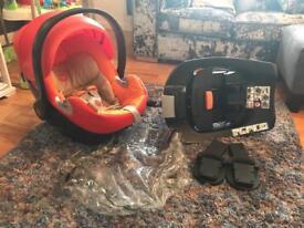 Mamas & Papas Cybex Car Seat, Base & Accessories