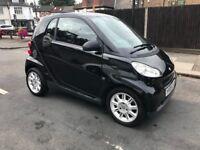 Black Smart fourtwo coupe Petrol 1.0l , low mileage
