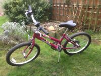 Girls bike (20inch)