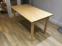 Kitchen dining table , Natural Pine