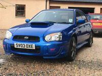 Subaru Impreza wrx STI type uk ppp