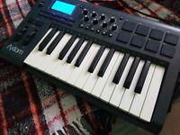 M AUDIO AXIOM 25 MK2 2nd Gen USB Midi semi weighted Keyboard