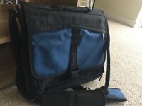 New laptop bag; used once (£5)