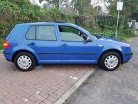 2002 Volkswagen Golf 1.6 SE 5dr Automatic 1.6L @07445775115