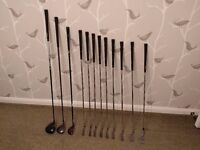 Golf clubs full set VERY forgiving Wilson Di7, good condition (4-9 Irons/SW/PW/60deg/1W/3W/Hybrid)