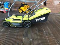 Ryobi electric lawnmower