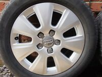 "16"" Audi A3 SE 7 Spoke Alloys 5x112"