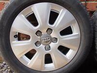 """16"""" Audi A3 SE 7 Spoke Alloys 5x112"""