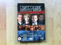 Law & Order : Criminal Intent - The Second Year DVD Box Set