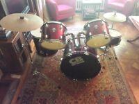 5-piece drum kit for older juniors (suit teenager)