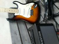 Electric guitar stratocaster tanglewood uk tsb 6