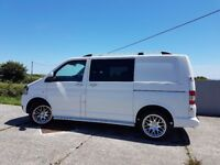Stunning white vw transporter (no vat)