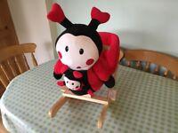 Ladybird baby rocker