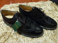Brand New & Unworn Black Leather Brogues by Edward Simpson