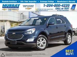 2016 Chevrolet Equinox LT *Accident Free, Remote Start, Heated S