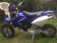 DR 50cc original 49cc child's kids 2 stroke dirt bike motorbike