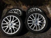Vw seat Audi skoda 5x112 17s alloys tyres