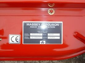 MASSEY FERGUSON, 54 inch mid mount mower new old stock