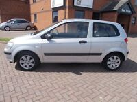 HYUNDAI GETZ GSI (05) in SILVER, 1 LADY OWNER, VERY LOW MILES