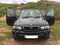 BMW X5 Sport 3.0 Sport Petrol Year 2003 millege 138000 private plate