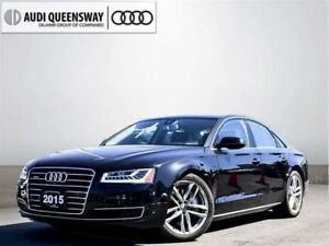 2015 Audi A8 4.0T, New Brakes and Tires, 0% Sale Event!