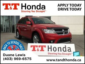 2014 Dodge Journey R/T* Rear Camera, Leather, Sunroof *