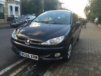 Peugeot 206, Look, 5 Door, 1360cc, Good condition, well maintained. Only 56,000 miles