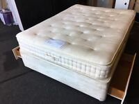 Relyon Kingsize storage divan with mattress (FREE DELIVERY)