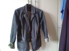 Denim lady jacket