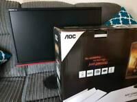 """AOC 24"""" GAMING Monitor 144hz 1ms"""
