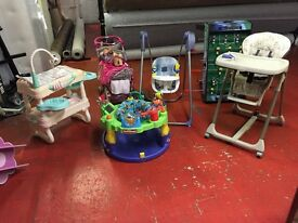 Children's toys and room furniture
