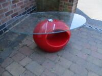 Funky retro coffee table.