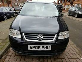 VW TOURAN 1.6 PETROL ENGINE