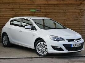 Vauxhall Astra 1.4i 16V Excite 5dr ONE PRIVATE OWNER (summit white) 2015