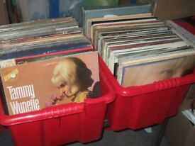 200+ LP Record Collection. Country / Easy Listening .