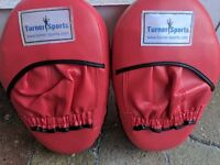 Turner Sports Red Boxing Pads