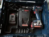 Bosch Brushless 18v Cordless Drill & Driver Set 2X 4.0AH Batteries