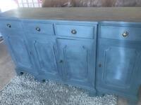 Refurbished Vintage Solid Wood Large Dresser/Sideboard