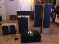 JBL LX SERIES ONKYO 5.1 HOME CINEMA SPEAKER SYSTEM