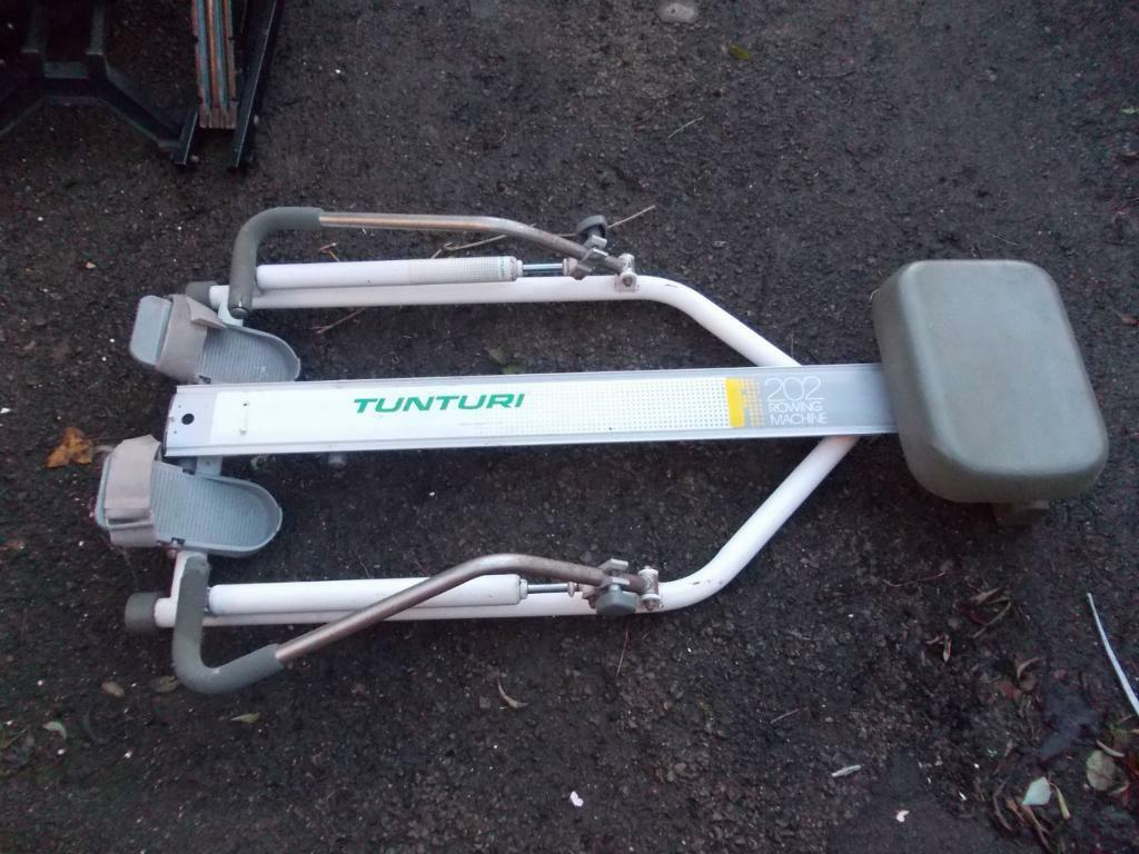 tunturi 202 rowing machine