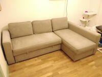 Corner sofa bed - IKEA