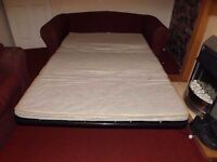 Bed settee and Matching sofa