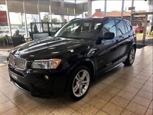 2014 BMW X3 xDrive35i M PACKAGE 4X4