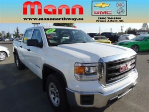 2015 GMC Sierra 1500 WT | Cruise control, Cloth, 4x4.