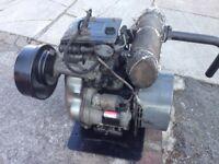 Single cylinder kubota diesel generator