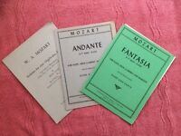 THREE 'MOZART' SCORE SETS FOR WIND ENSEMBLE