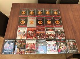 Manchester United Season Review DVD's - Every Season from 1992-93 to 2012-13